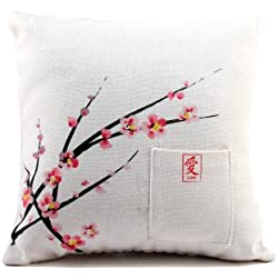Weddingstar Cherry Blossom Square Ring Pillow