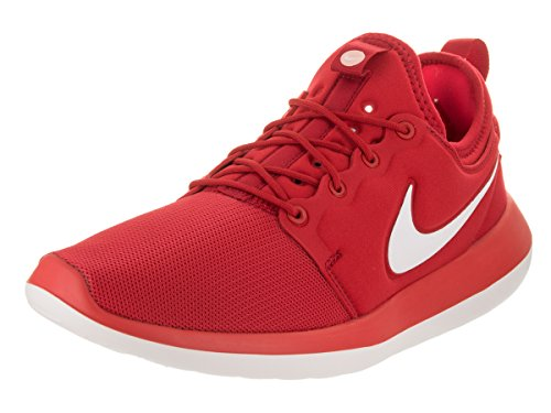 Zapatillas de running Nike Mens Roshe Two University Rojo / Blanco / Track Red 11.5 Hombre US