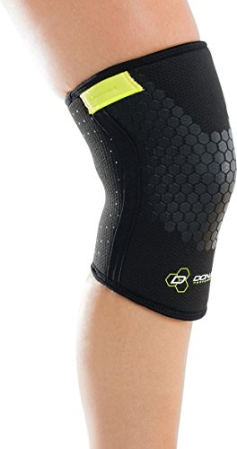 DonJoy Performance Anaform Power Knee Compression Sleeve Support (Pair) – WOD, Power lifting, Squats, Weightlifting, CrossFit, Functional Fitness, HIIT Workouts for Men and Women, Unisex by DonJoy Performance