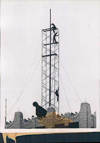 1958 St Louis MO Steel Scaffold Repair Flag Pole MO Pacific Building Press ()