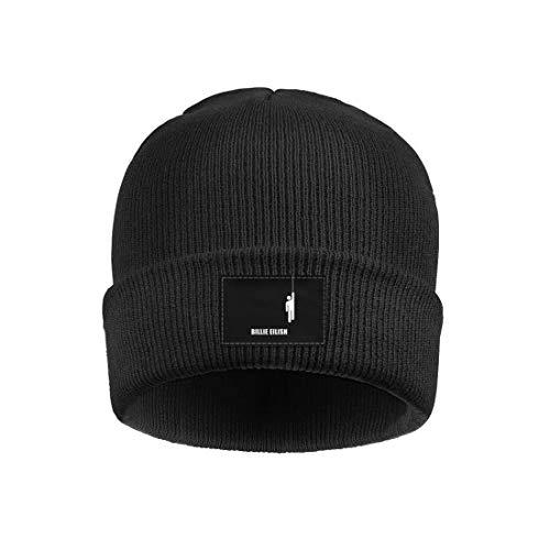 41988cc2c6a Merry-XMAS Womens Mens Knitting Beanie Hats Soft FineAcrylic Winter Warm  Billie-Eilish- Beanie Skull Hats
