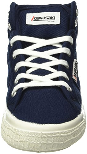 Kawasaki Boston Boot, 2.0 - Zapatillas Unisex adulto Azul - Blau (Dark Navy, 592)