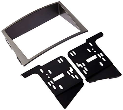 Metra 95-8903S Double DIN Installation Dash Kit for 2010 Subaru Legacy and Outback (Silver Dash Kit)