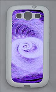 Samsung Galaxy S3 I9300 Cases & Covers - Abstract Rotating Light Custom TPU Soft Case Cover Protector for Samsung Galaxy S3 I9300 - White