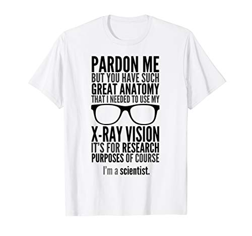 X Ray Vision I'm A Scientist T-Shirt Science Prank Gadget (Bill Nye The Science Guy Sound Worksheet)