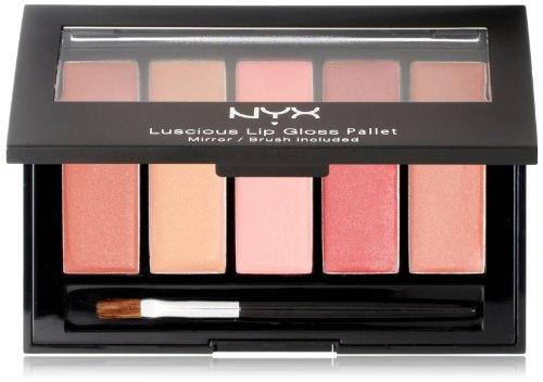 NYX Lip Gloss Palette, The Naturals, 0,26 once
