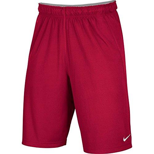 Nike Men's Athletic Dri-Fit Shorts Red (Dri Fit Short)