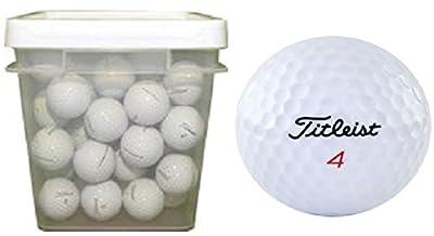 Titleist 50 Ball Bucket DT Solo Used Golf Balls