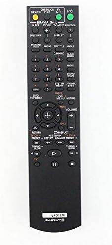 AV System Distant Management Suitable with Sony RM-ADU007 DAV-TZ130 HCD-HDX475 DAV-HDX576WFHCD-HDX274 DAV-HDX275 DAV-HDX277WC DAV-HDX589W 148057011 Dwelling Theater System