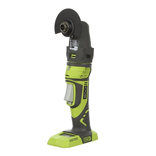 - Ryobi P340 One+ 18V Lithium Ion JobPlus Cordless Multi Tool with 3 Attachment Heads (P570 and P246 Parts Only, Battery Not Included)