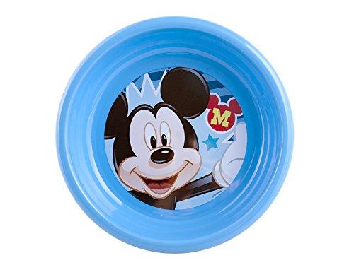 Home Disney Minnie2 Bowl, Plastic, Blue/Multi, 16 X 16 X 4 cm