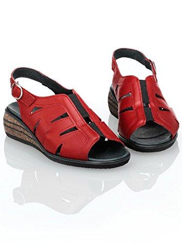 Avena Damen Sandalette Rot