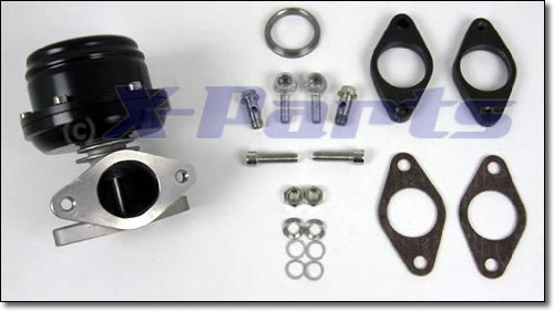 X-Parts 1016001 Wastegate 38 mm Schwarz