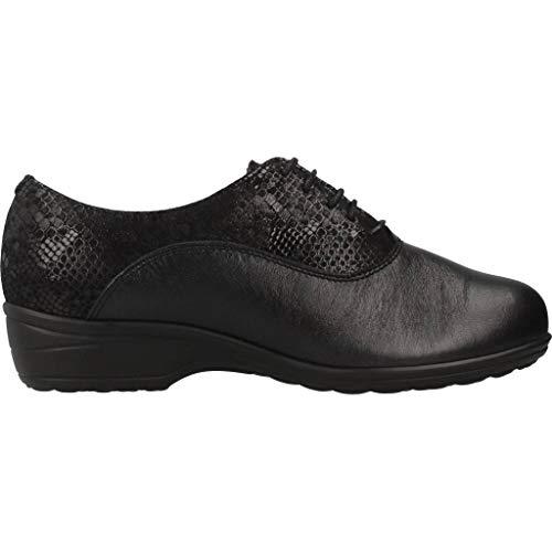 Color Negro Mujer Modelo Marca Pinosos Mujer De Cordones Pinosos Negro G 7671 Para Zapatos q1Ow6FIW