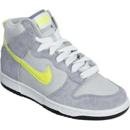competitive price b7606 abc1f Nike Women s Dunk High 6.0 342257 070 Stealth Neutral Grey Lemon Twist ( Women s 8.5,