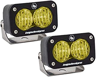 product image for Baja Designs ATV S2 Sport Pair Wide Cornering LED Lights Amber
