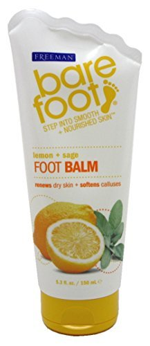 (Freeman Bare Foot Foot Balm 5.3 Ounce (156ml) (3 Pack))
