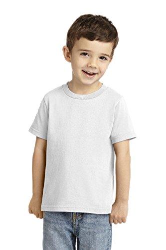 (Precious Cargo Unisex-Baby 54 oz 100% Cotton T Shirt 2T White)