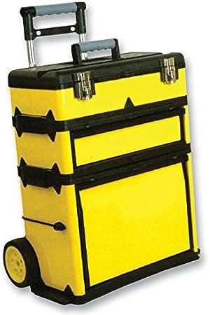 Duratool D00403 - Caja de herramientas con ruedas (alta ...