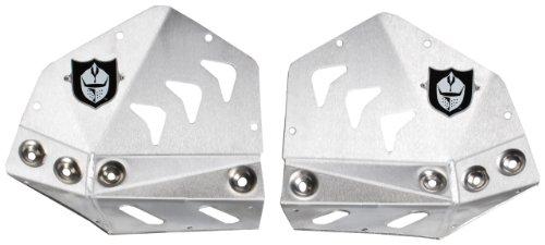 Pro Armor S061075 Revolution Brushed Aluminum Heel Guard Plates
