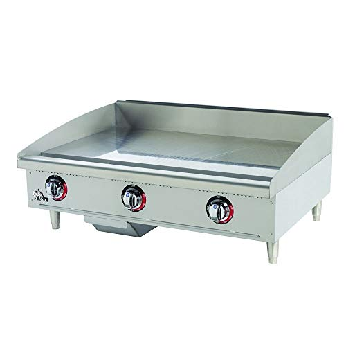 "Star Manufacturing 36"" Natural Gas Griddle"