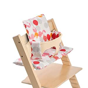 stokke tripp trapp cushion silhouette pink 0 36 months childrens highchair. Black Bedroom Furniture Sets. Home Design Ideas