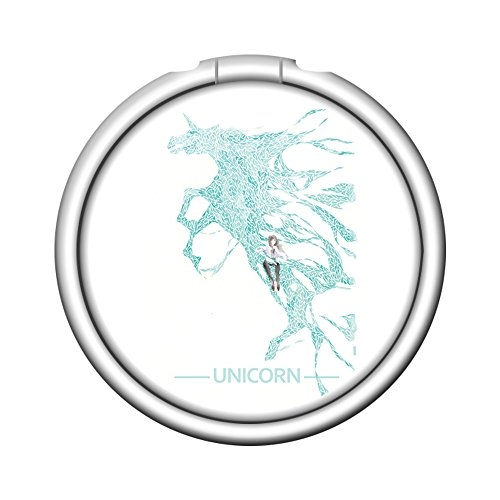Fashion Expanding Pop Grip Sockets Finger Ring Holder Cell phone Mount Holder For Iphone 6 6S 7 8 X Plus Samsung HTC And All Smartphone - Unicron Girl Pentium Green Horse