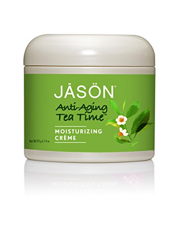 JASON Anti-Aging Tea Time Green Tea Crème, 4 Ounce
