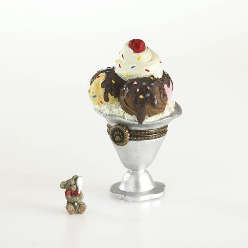 Boyds Bear Ice Cream Sundae Treasure Box 2013 ()
