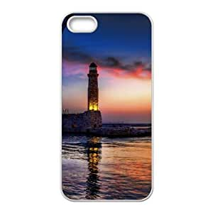 iPhone 5 5s Cell Phone Case White Lighthouse F8226426