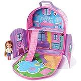Everyday Princes ZipBin 40 Doll Dollhouse Backpack w/ 1 Doll