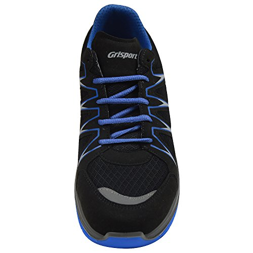 Grisport 13901L20 Herren Sneaker, Outdoor Fitness Schuhe, Wechselfußbett, schwarz