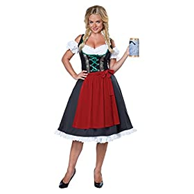 California Costumes Women's Oktoberfest Fraulein Costume