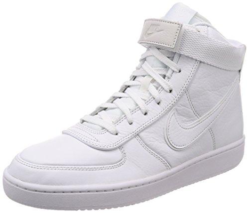 Nike Men's Vandal High Supreme LTR White/White-White Fashion Shoes (9.5) ()
