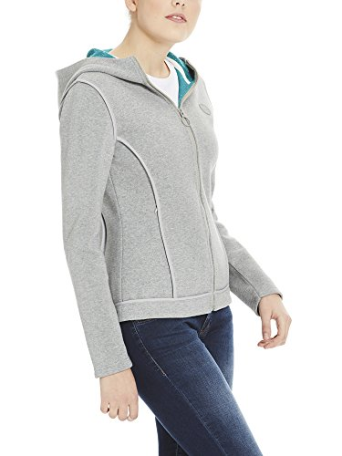 Grey Femme winter Marl Bench Ma1054 Blouson Jacket Gris Binding 7xHYzC