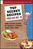 Top Secret Recipes Treasury, Todd Wilbur, 0452284074