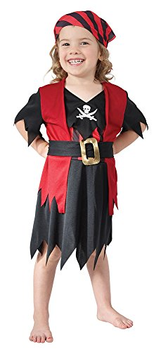 Pirate Outfits For Toddlers (Toddlers Pirate Girl Costume)