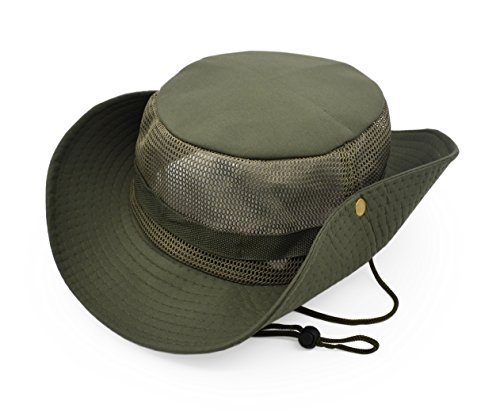 6f8571faae9a94 Outdoor Sun Protect Hat Army Style Sun Cap with Polyester Mesh Panel Keep  Cool