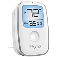 SDI Technologies iHome iSS50 5-in-1 Smartmonitor, 24/7 Home monitoring from anywhere