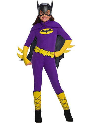 Rubie's Costume Batgirl Dc Superhero Girls Deluxe Child Costume