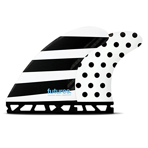 Future Fins Jack Freestone Control Thruster Set, Polka/Stripes by Future Fins