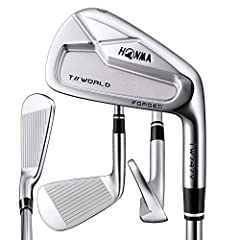 Honma TW747 V Iron Set The Choice of Champions Strategically positioned center of gravity x Greater ball speed = Increased carry distance. The neck has been shortened 4mm (compared to the previous model). Achieves a low center of gravity 20g ...
