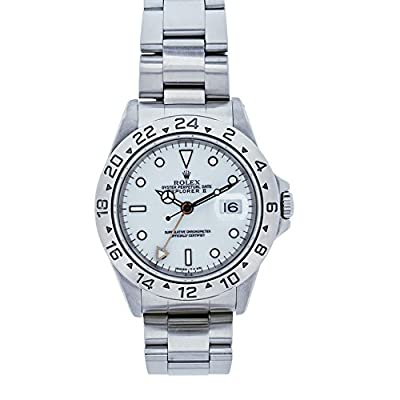 Rolex Explorer II Automatic-self-Wind Male Watch 16570 (Certified Pre-Owned) by Rolex