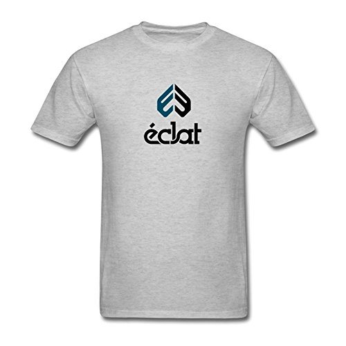 XIULUAN Men's Eclat BMX Logo T-shirt Size L ColorName Short (St Martin Bmx)