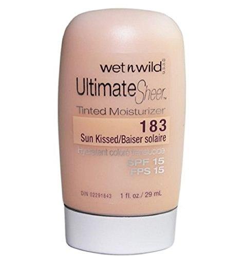 Wet 'n' Wild Ultimate Sheer Tinted Moisturizer, SPF 15, Sun Kissed 183, 1 (Sun Kissed Facial Moisturizer)
