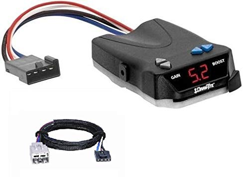 Draw-Tite I-Command Trailer Brake Controller Ford, F-250, F-350, F-450, F-550 Super Duty, All Styles (Cable Included)