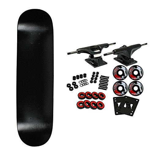 Moose Complete Skateboard Dipped Black 8.0