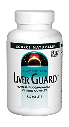 SOURCE NATURALS Liver Guard Tablet, 120 Count (Choosing The Best Glutathione Supplements)
