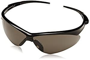 Jackson 22475 Nemesis 3020121 Safety Glasses Black Frame Smoke Lens Anti Fog, 1 Each