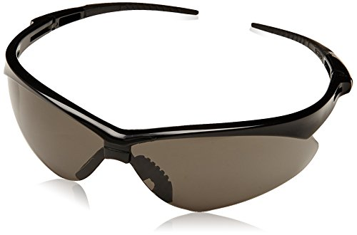 Jackson 22475 Nemesis 3020121 Safety Glasses Black Frame Smoke Lens Anti Fog, 1 - Names Sunglass Part